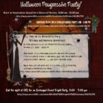 October 29 Halloween Progressive Party in Second Life !