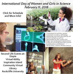 Feb 11 International Day of Women and Girls in Science S.T.E.A.M.